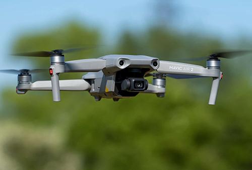 Zasnemane s dron video foto